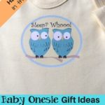 Baby onesie gift for mom