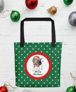 Cute Pre-Christmas Gift for Beagle Dog Lover – Tote Bag