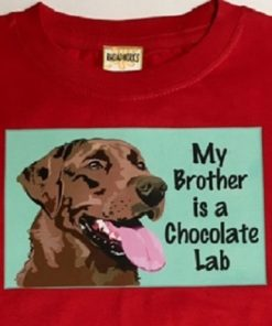 Chocolate Lab Onesie or Tee
