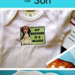 Cute Baby Onesie shower gift for son