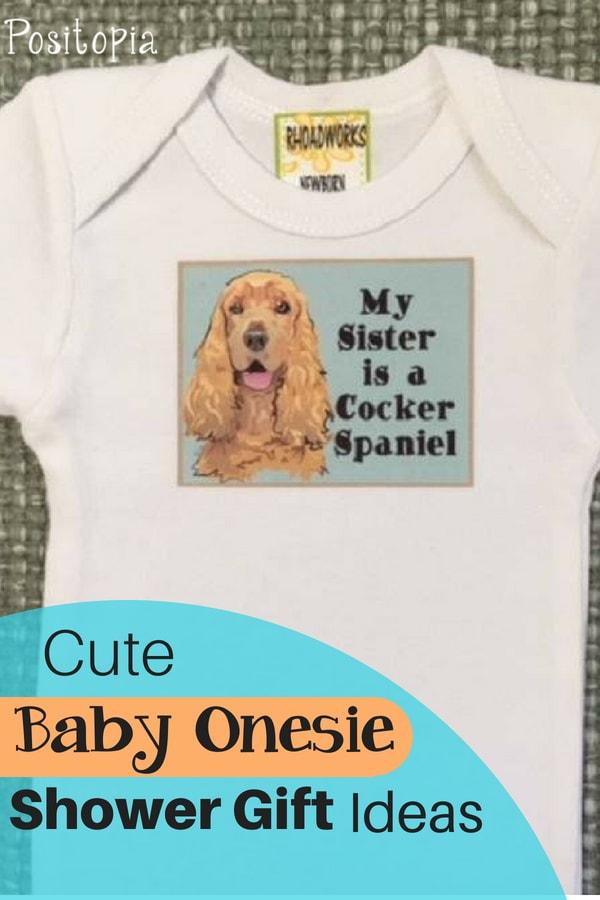 Cute baby onesie shower gift ideas