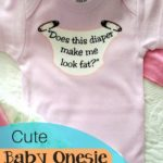 Cute Baby onesie shower gifts