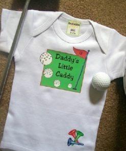 Golf Baby Onesie – Daddy's Little Caddy