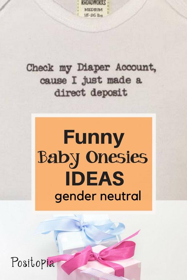 Funny Baby Onsies Ideas Gender Neutral