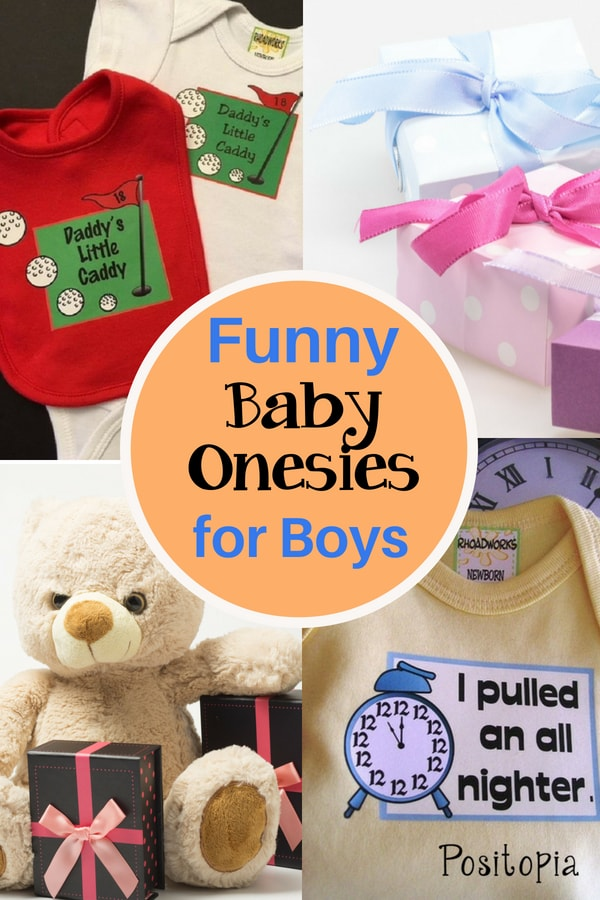 Funny Baby Onsies for Boys
