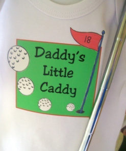Daddy Baby Onesies – Daddy's Little Caddy