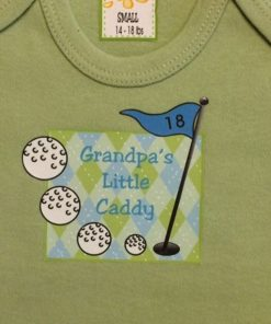 Baby Grandpa Onesie – Golf Outfit
