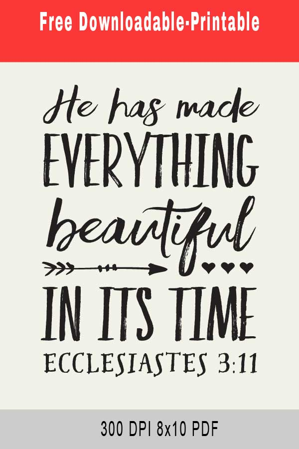 Everything Beautiful In Its Time Release Date