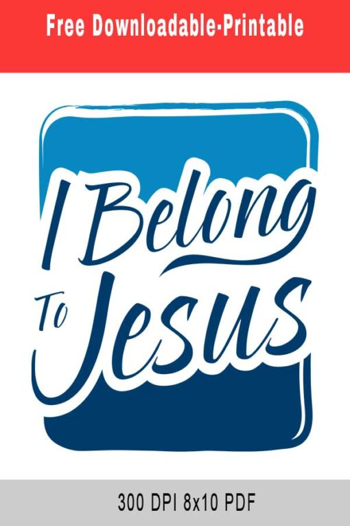 Belong to Jesus