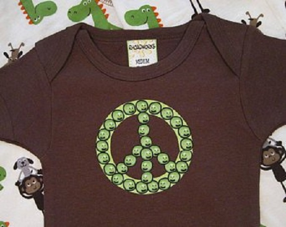 Peace Baby Shower Ideas Baby Onesie For Boys Or Girls