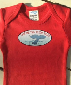 Beach Baby Onesie – For Boys and Girls