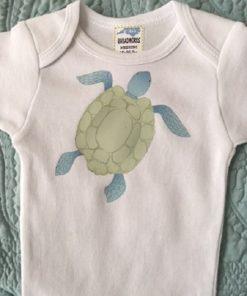 Turtle Baby Onesie
